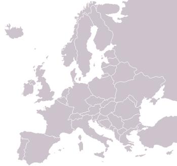 karta europa utan namn udd.be   En liten analys av det här med öst och väst i ESC karta europa utan namn